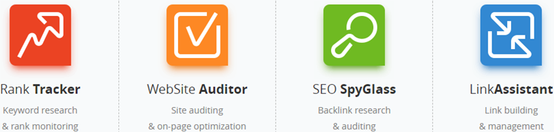 The 4 SEO Powersuite Tools