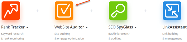 Website Auditor - Part of the SEO Powersuite Tool Set
